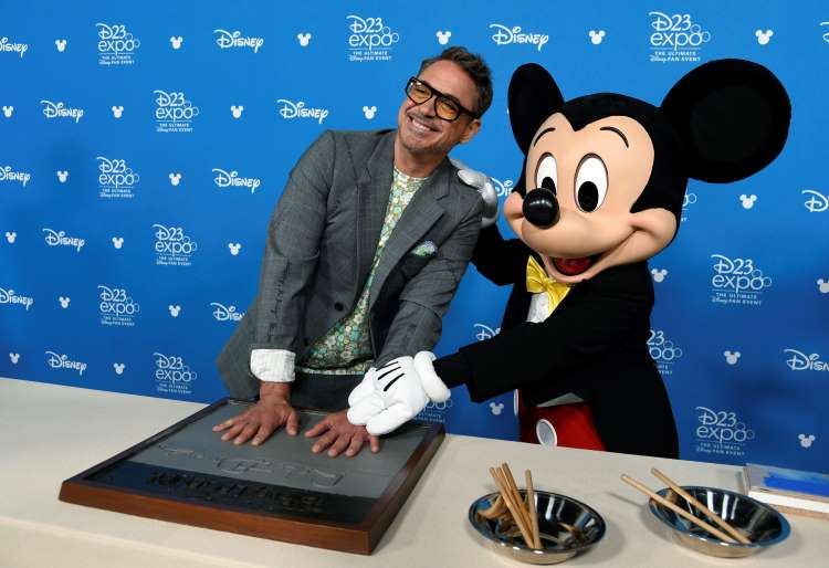 Disney Honours Robert Downey