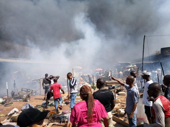 Buhari sympathises with Onitsha tanker fire victims
