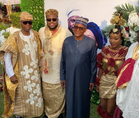 Photos from Day 2 of Davido's brother, Adewale Adeleke's traditional wedding to his fiancee, Ekanem